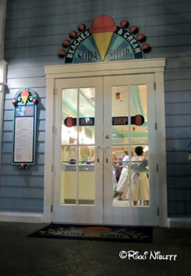 Front of Beaches and Cream