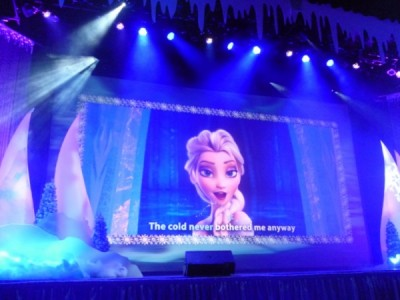 Frozen Summer Fun Live Hollywood Studios Sing Along (42)