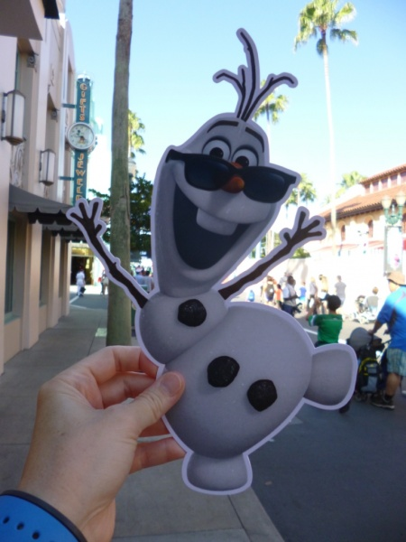 Frozen Summer Fun Live Hollywood Studios take along olaf (4)