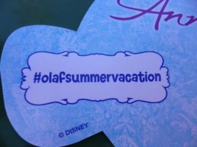 Frozen Summer Fun Live Hollywood Studios take along olaf (5)