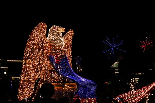 Main Street Electrical Parade Patriotic Float