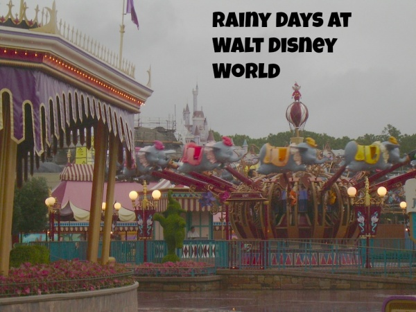 Rainy Day At Disney