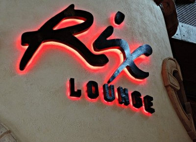 Rix Lounge sign
