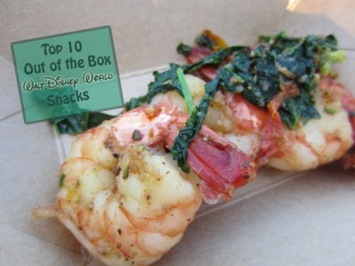 Top 10 Out of the Box Walt Disney World Snacks