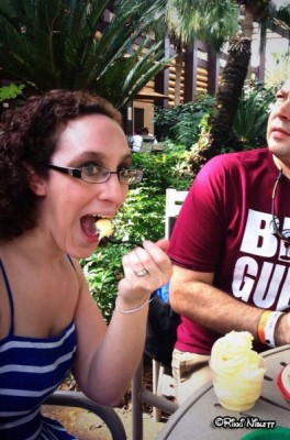 Trying Dole Whip