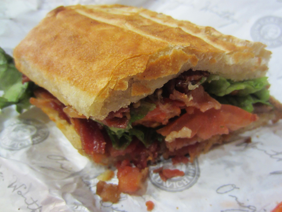 BLT at Earl of Sandwich