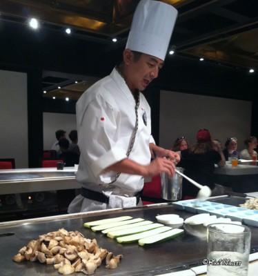 Hibachi Grilling at Teppan Edo1