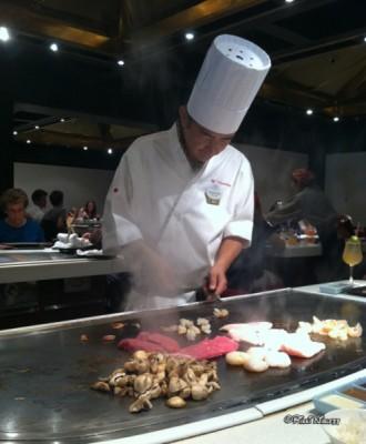 Hibachi Grilling at Teppan Edo2