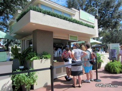 Epcot Food and Wine Festival Booths