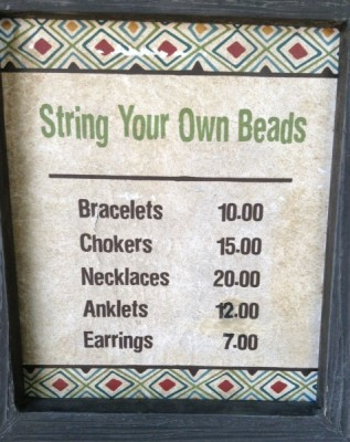 Pricing for Bead Outpost