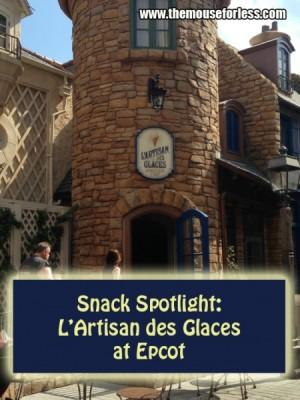 Snack Spotlight - L'Artisan des Glaces