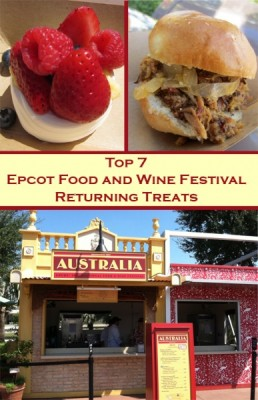 Top 7 Epcot Food and Wine Festival Returning Treats