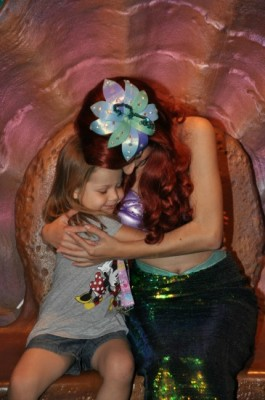 My daughter loves Ariel!