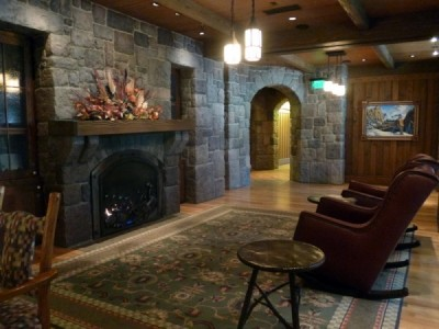 Carolwood Pacific Room Train wilderness lodge 65