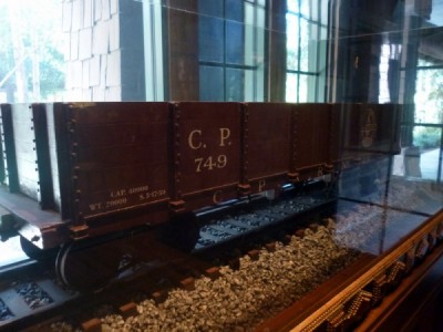 Carolwood Pacific Room Train wilderness lodge 71