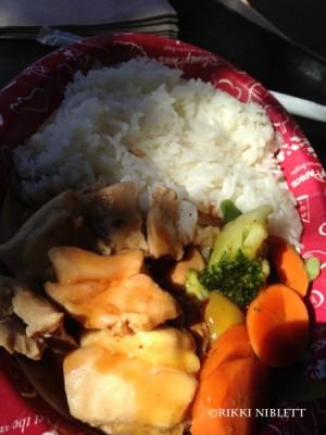 Chicken Teriyaki from Katsura Grill