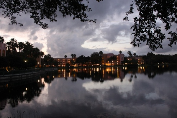 Coronado Springs at Sunset