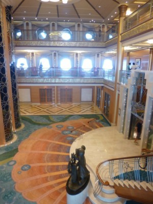 Disney Magic Cruise Ship reimagined atrium