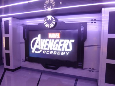Disney Magic Cruise Ship reimagined avengers academy 2