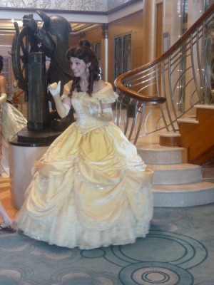 Disney Magic Cruise Ship reimagined belle