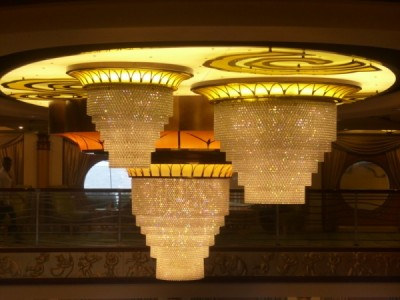 Disney Magic Cruise Ship reimagined chandelier 2