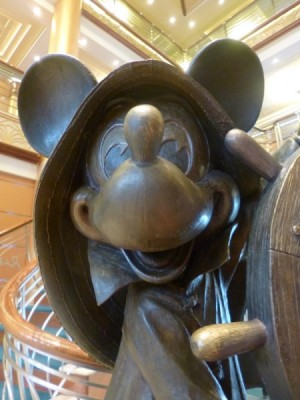 Disney Magic Cruise Ship reimagined helmsman mickey