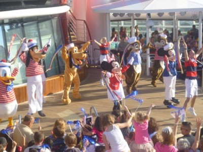Disney Magic Cruise Ship reimagined sail away 3