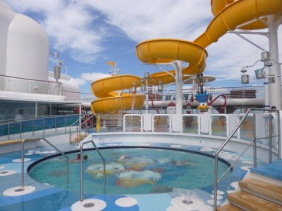 Disney Magic Cruise Ship reimagined twist and spout