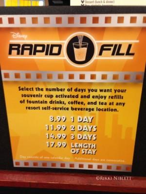 Rapid Fill Instructions