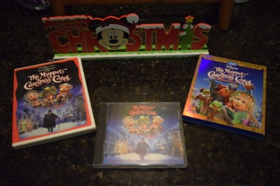 Muppets and Mickey at Christmas