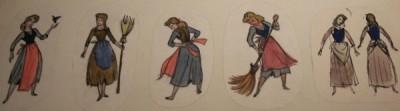 Cinderella drawings