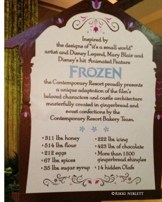 Frozen Display Info
