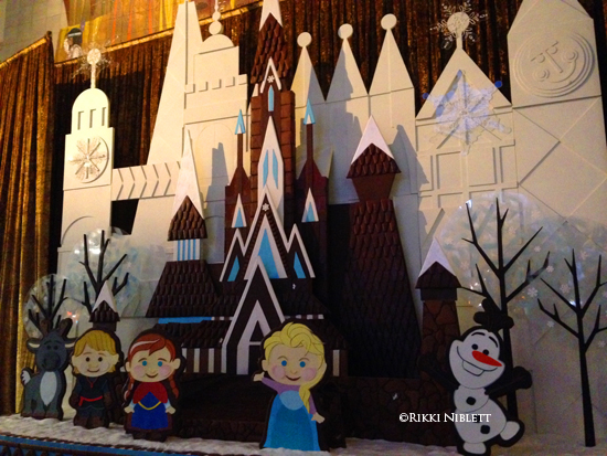 Frozen Display at Disney's Contemporary Resort