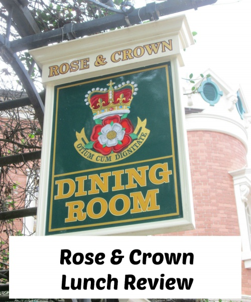 Lunch Review for Rose & Crown