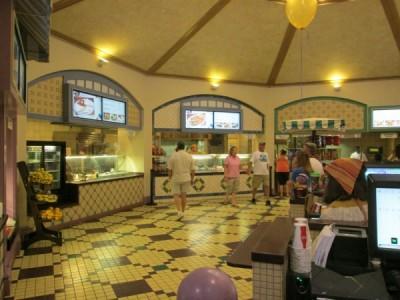 Sassagoula Food Court Food Stations