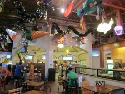 Sassagoula Food Court setting