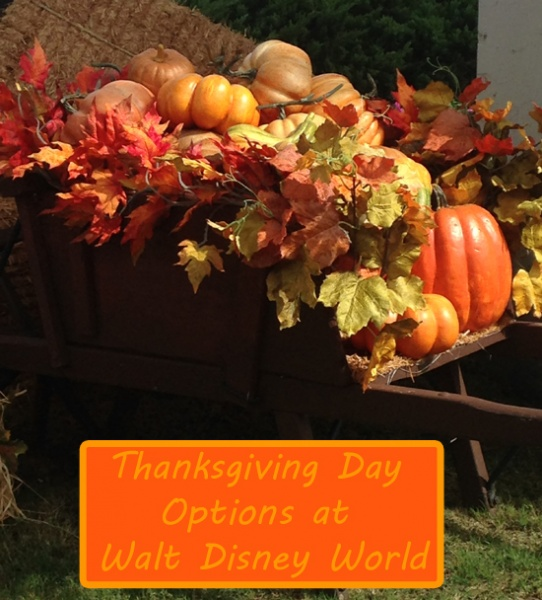 Thanksgiving Day Options at Walt Disney World