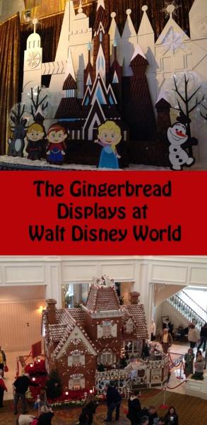The Gingerbread Displays at Walt Disney World