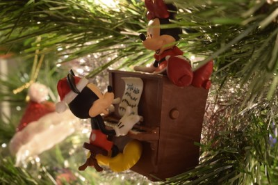 Mickey at Piano Ornament