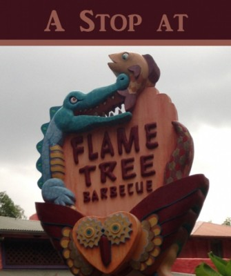 A Stop at Flame Tree Barbeque