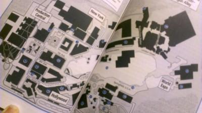 Map of Universal Studios Florida