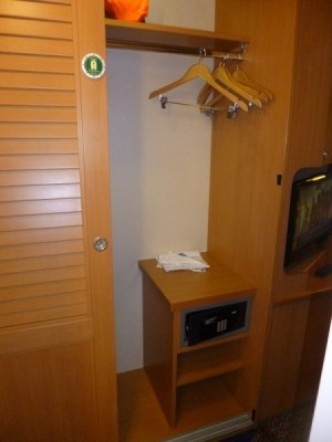 Disney Cruise Line inside standard stateroom tour magic 13