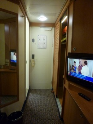 Disney Cruise Line inside standard stateroom tour magic 6