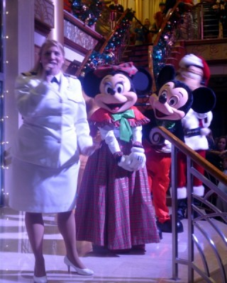 Disney Cruise Line very merrytime cruise holiday christmas 1