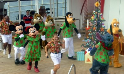 Disney Cruise Line very merrytime cruise holiday christmas 11