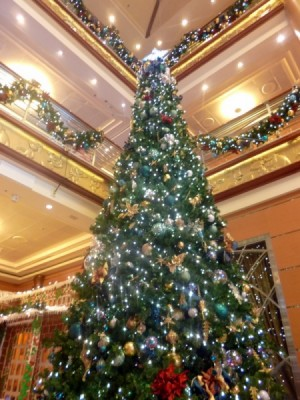 Disney Cruise Line very merrytime cruise holiday christmas 14