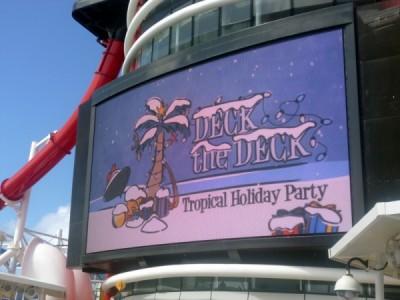 Disney Cruise Line very merrytime cruise holiday christmas 18