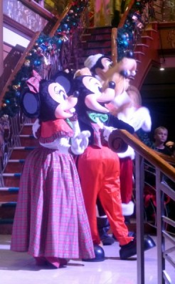 Disney Cruise Line very merrytime cruise holiday christmas 2