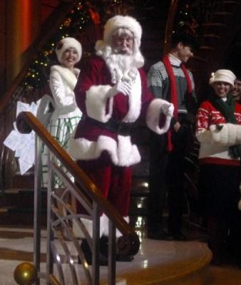 Disney Cruise Line very merrytime cruise holiday christmas 5