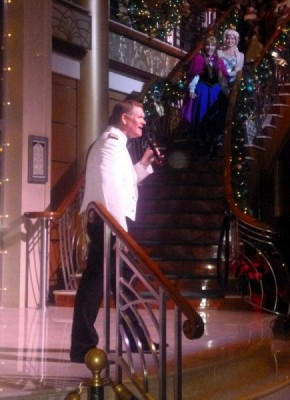 Disney Cruise Line very merrytime cruise holiday christmas 6